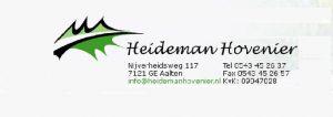 Logo Heideman Hovenier