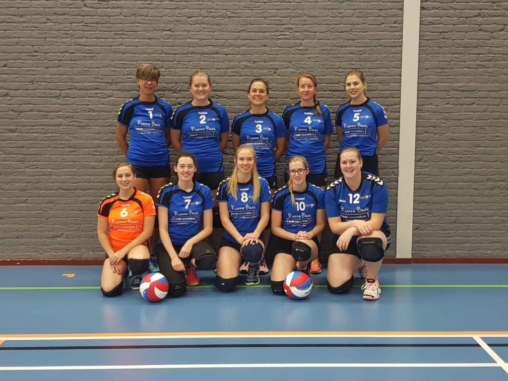 Teamfoto Brevolk Dames 2