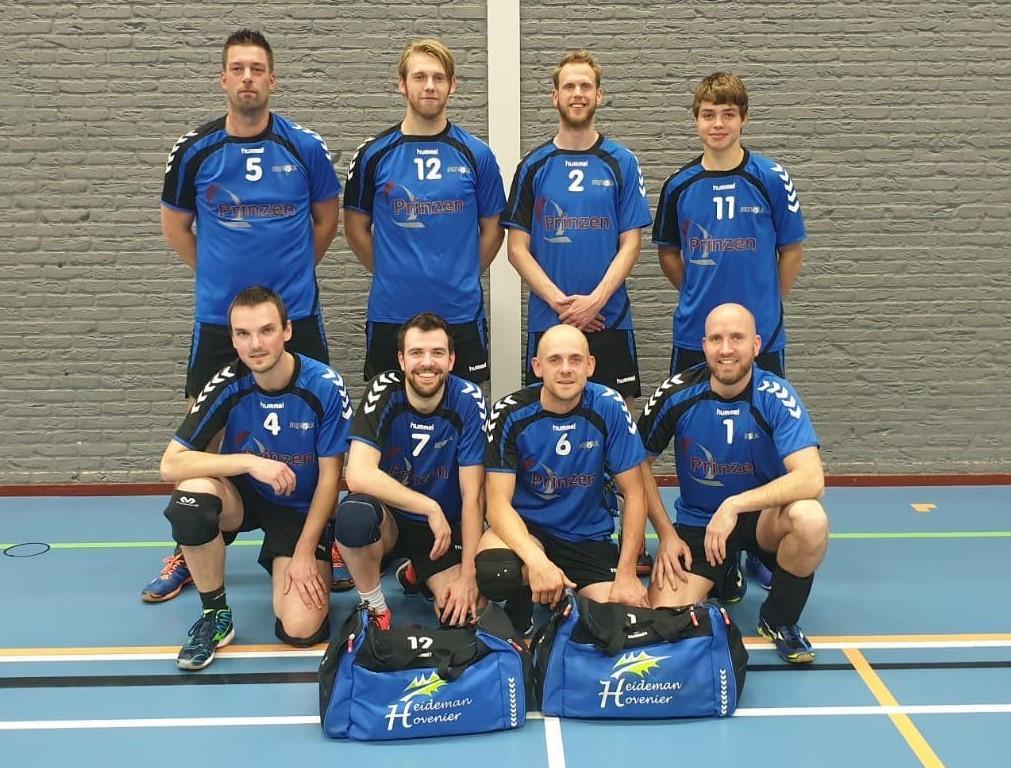 Teamfoto Brevolk Heren 1